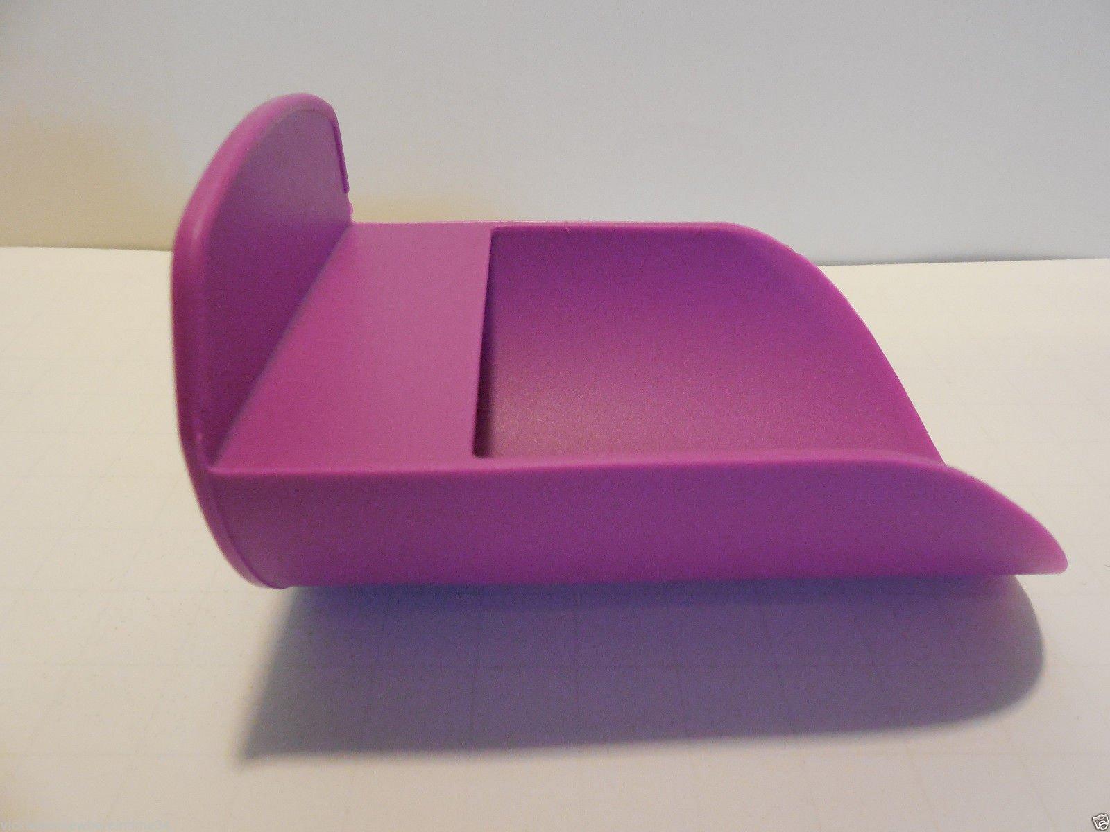 Tupperware Rocker Scoop, Canister Scoop, Purple, New