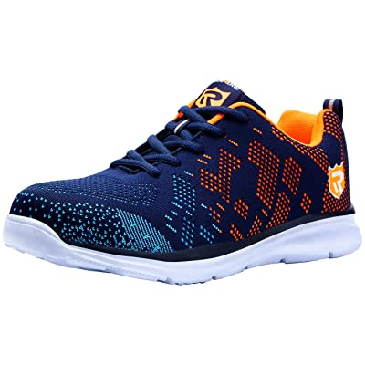 LARNMERN Steel Toe Shoes Women and Men Safety Shoes Lightweight and Breathable Sneakers: Shoes