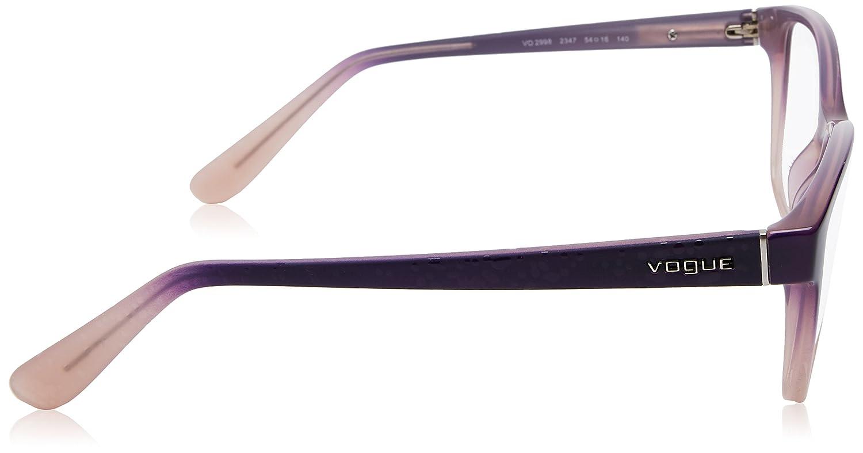 107a7505d7e Vogue VO2998 Eyeglass Frames 2347-54 - Top Violet Grad Opal Powder VO2998- 2347-54 at Amazon Men s Clothing store
