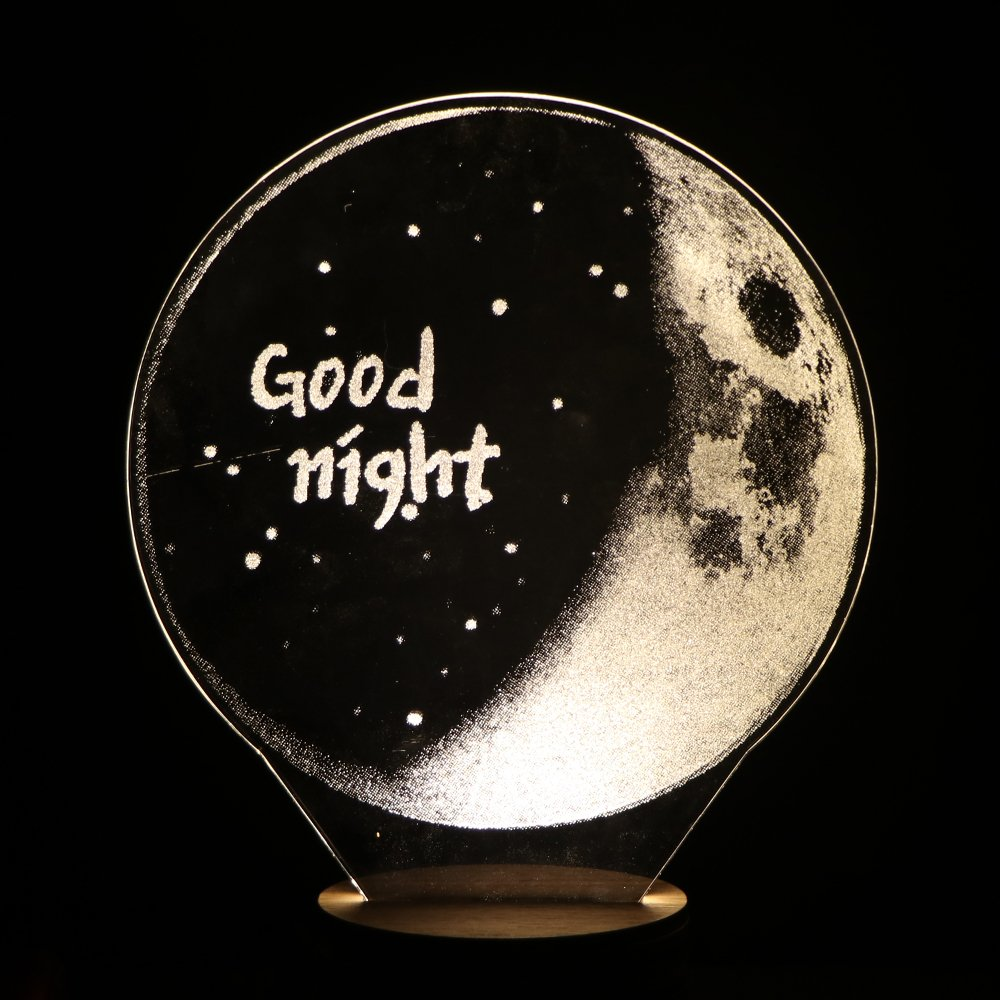 Toys & Hobbies Intelligent 2017 New Moon Lights 3d Led Charging Bedside Nightlight Decorative Lamp Pat Moon Lights The Christmas Gifts Creative Touch With The Best Service