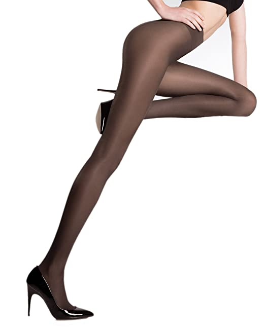 391e5b76f Pierre Mantoux Eclatant 40 Tights-Perla-XL IV  Amazon.ca  Clothing ...