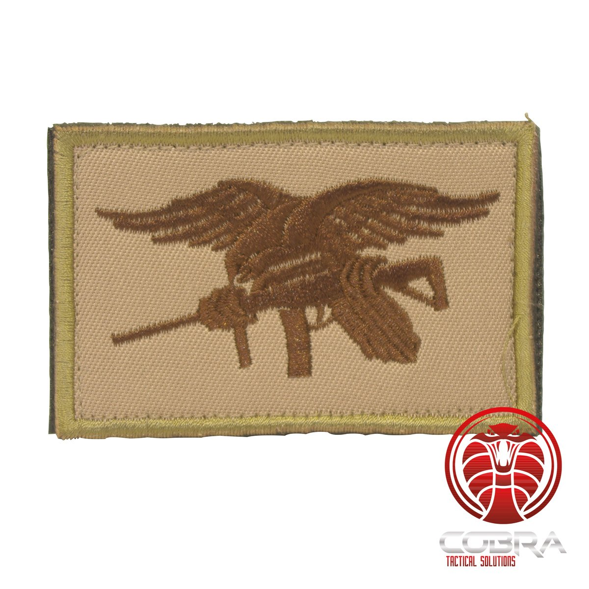 Cobra Tactical Solutions US Navy Seals Parche Bordado Militar tactico Velcro Airsoft