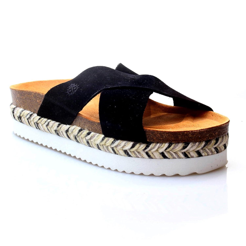 bca7aedea Yokono Women s Yokono Itaca033ng Thong Sandals black Size  6.5  Amazon.co.uk   Shoes   Bags