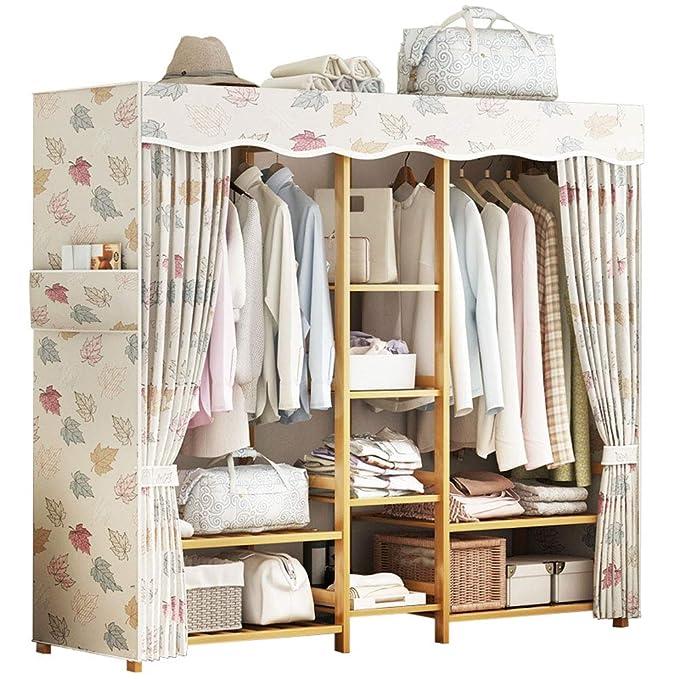 Amazon.com: Armario de tela – armario de armario simple de ...
