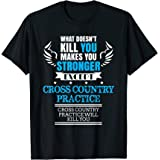 Cross Country Runner T-Shirt Cross Country Practice Gift