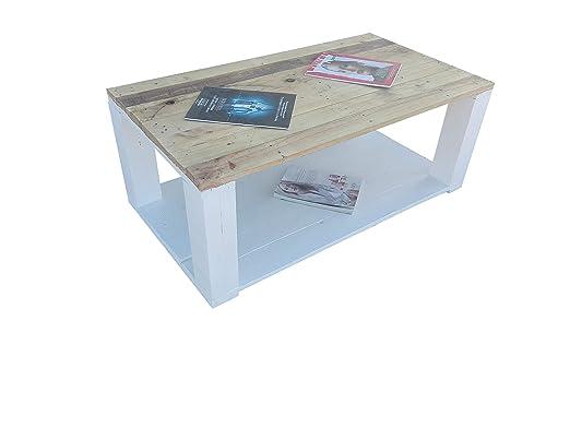 Mesa de Palets Pintada en Color Blanco Madera & Diseño Moderno ...