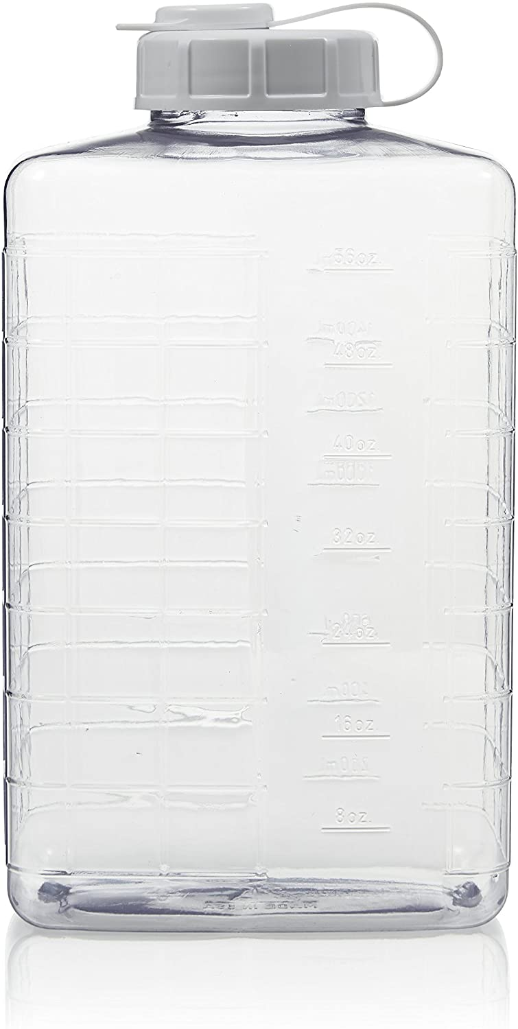 Arrow Home Products 269859 Clear 2 Quart View Refrigerator Bottle
