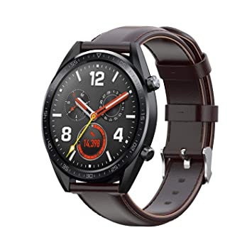 Buwico Correa Compatible con Huawei Watch GT Smartwatch, Correa de ...