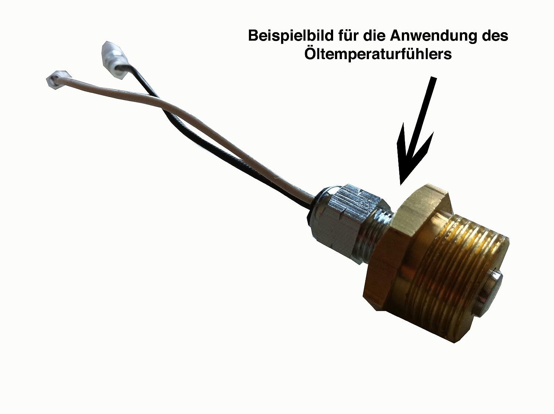 Raid HP 660426 Gewindeadapter M20 x 1.5 f/ür /Öltemperaturgeber-Montage