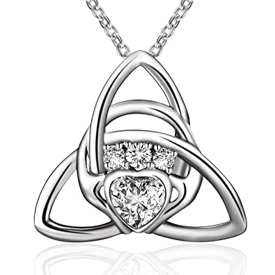 ladies ls silver pendant photo larger htm email p claddagh birthstone