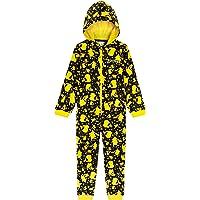 Pokèmon Pijama Niño de Una Pieza, Pijama Pikachu para Niños, Pijamas Enteros de Forro Polar con Capucha, Regalos…