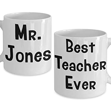 PMIHWH0023 Teacher Gift Personalized Male Mug For Back To School Fall Birthday Christmas
