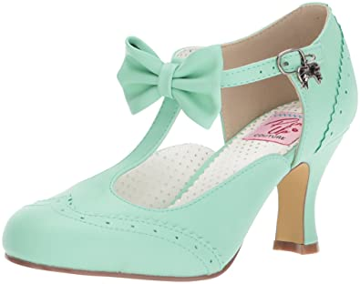 9f7359bf4cf Pin Up Couture Women s FLAPPER-11 Pump