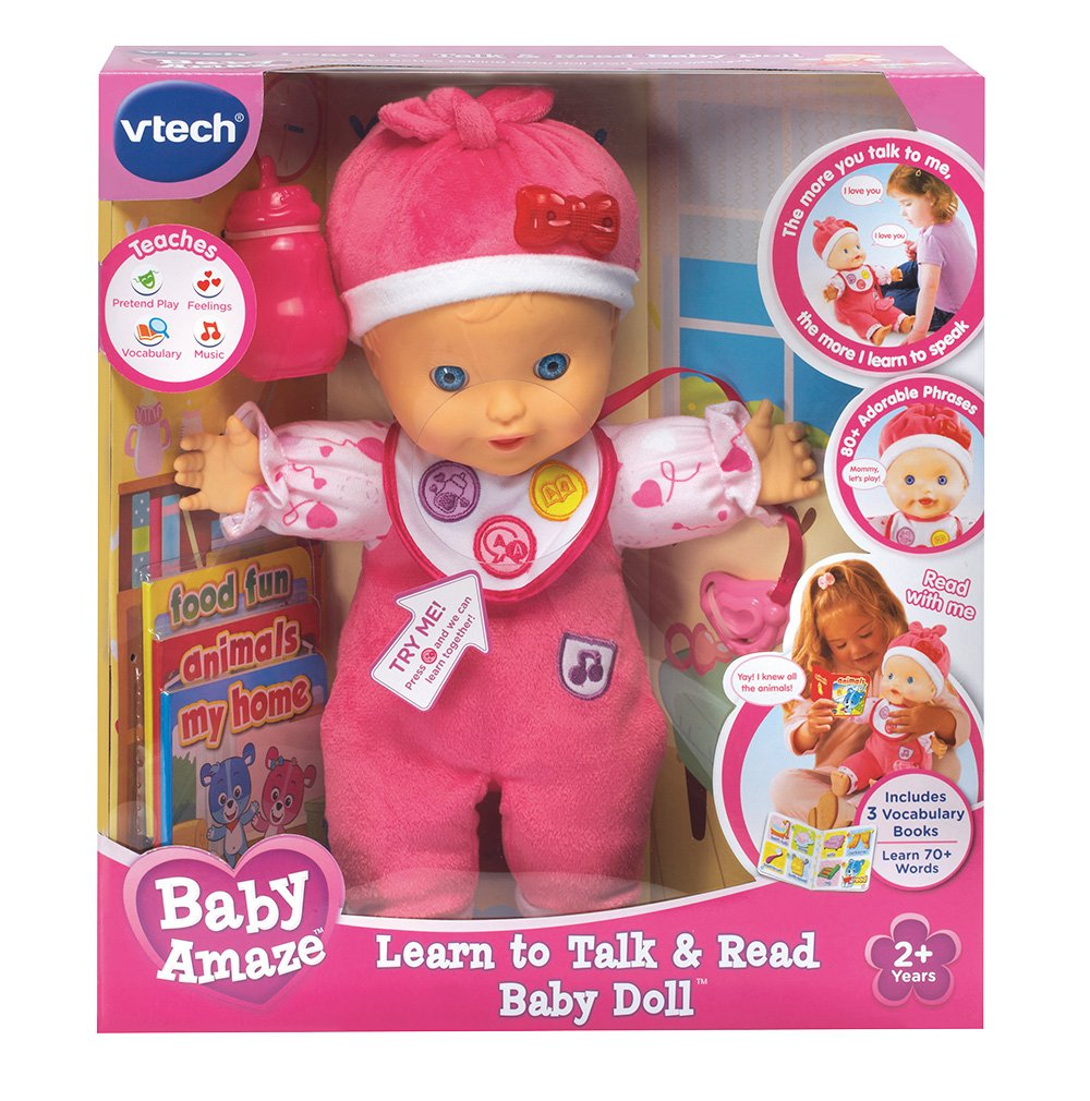 VTech Baby Amaze Learn to Talk and Read Baby Doll by VTech (Image #6)