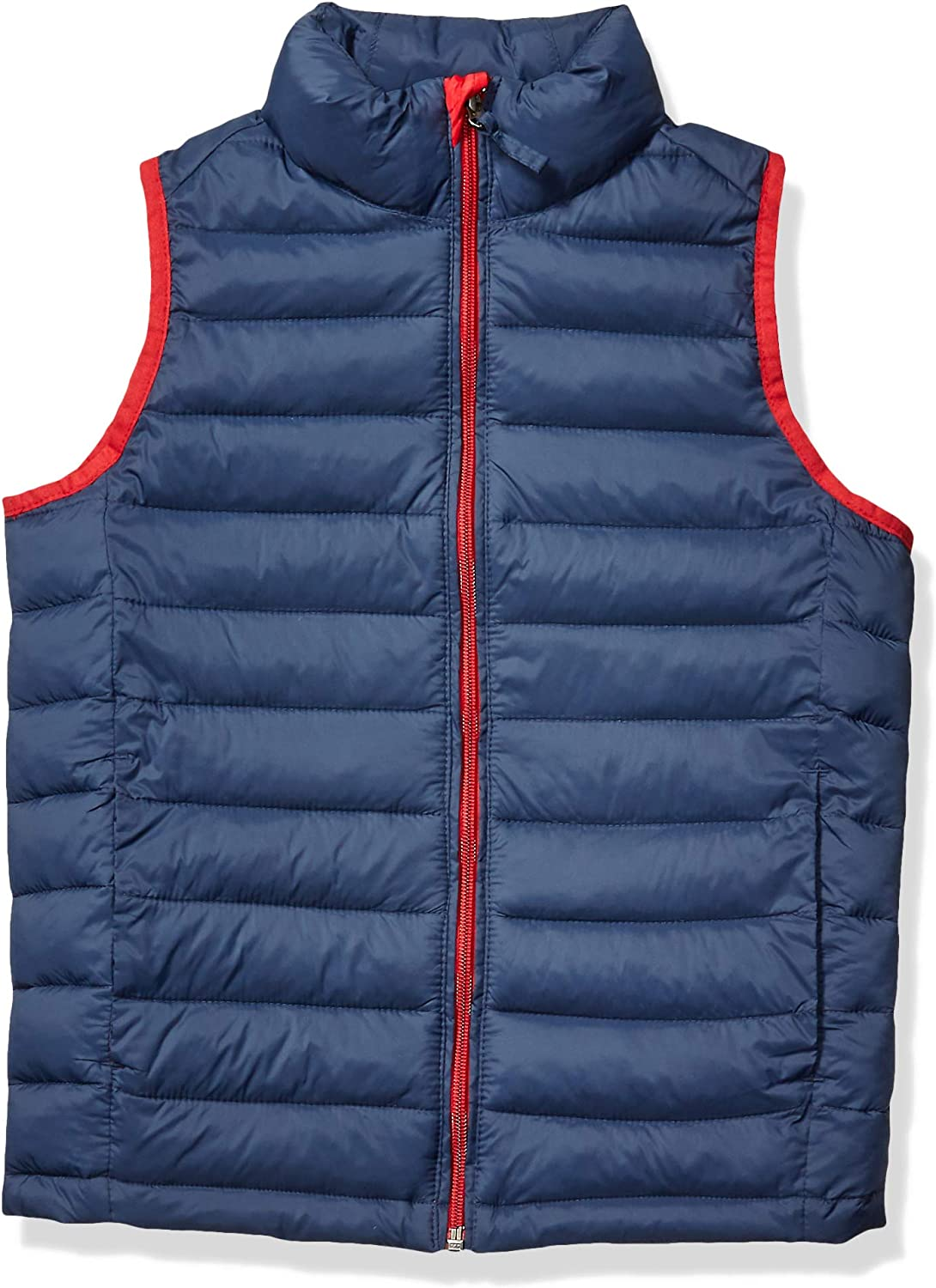 Amazon Essentials Boy's Lightweight Water-Resistant Packable Puffer Vest