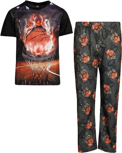 Quad Seven Boys 2 Piece Game Over Pajamas
