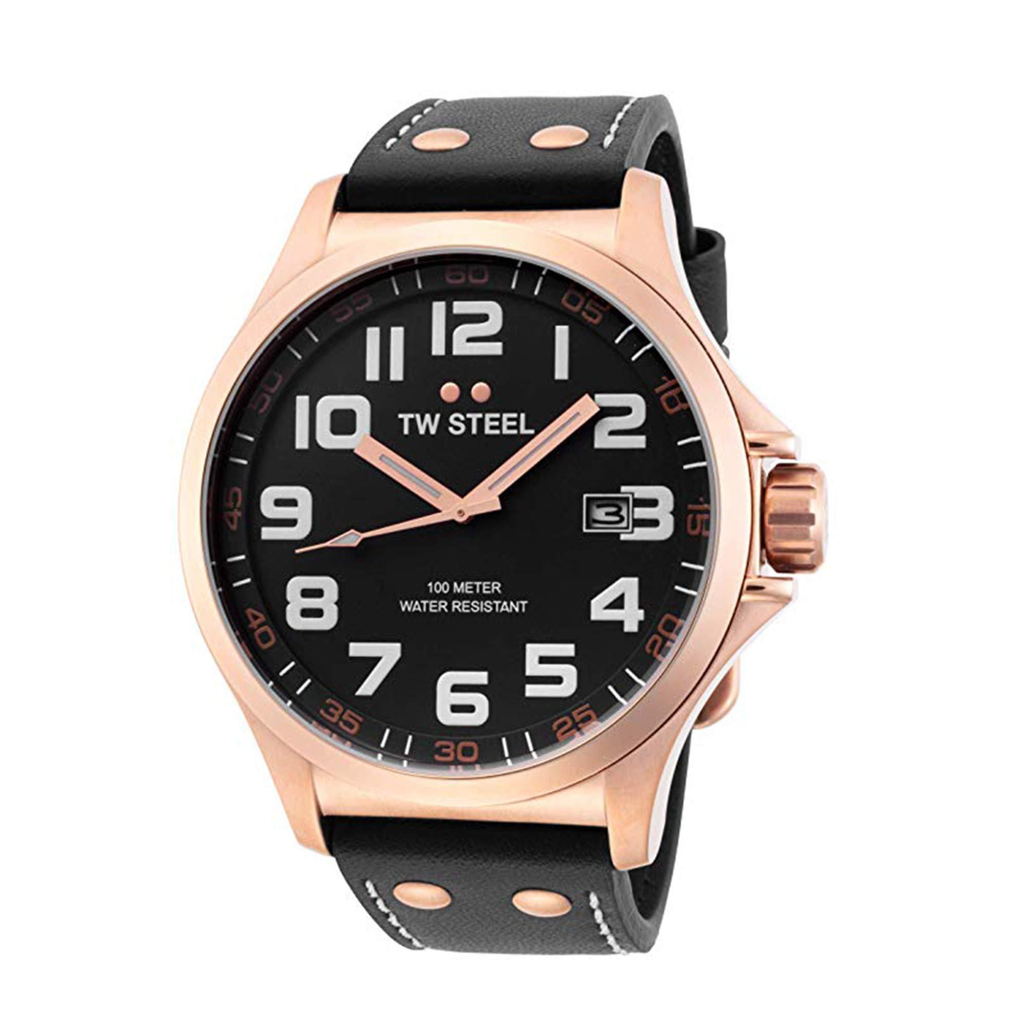 TW Steel Pilot Quartz Male Watch TW417 (Certified Pre-Owned)