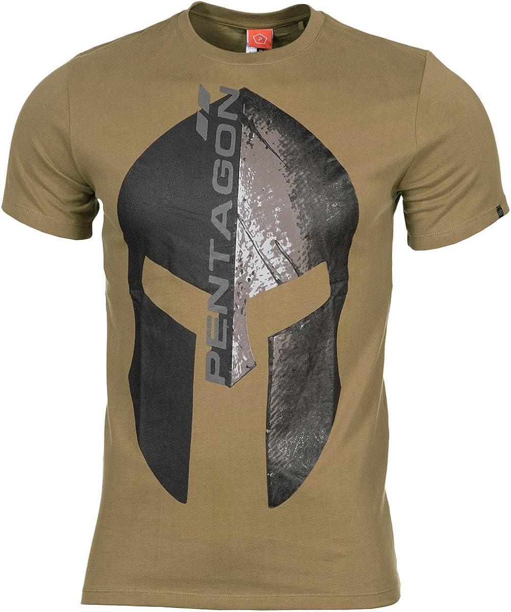 PENTAGON Hombres Ageron T-Shirt Eternity Oliva: Amazon.es: Ropa y ...