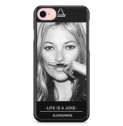 Coque iPhone X et iPhone XS kate moss eleven paris life is a joke ...