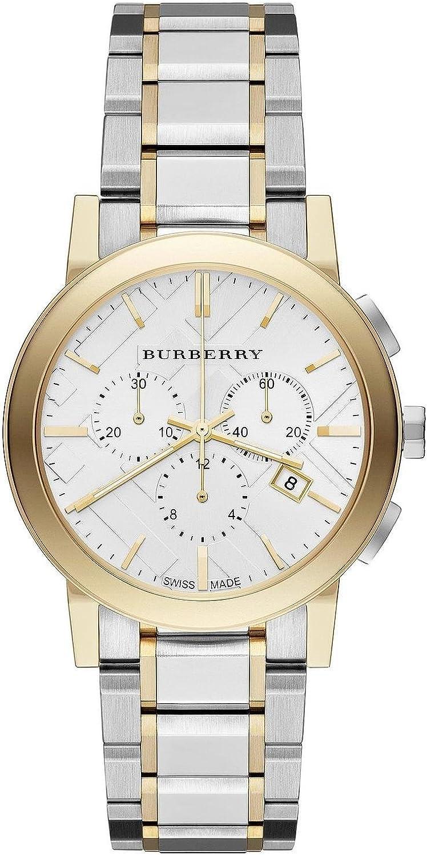 BURBERRY BU9751 - Reloj, Correa de Acero Inoxidable