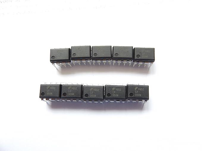 Amplificador operacional dual de 8 pines, 4 MHz (Lf353N), 10 ...