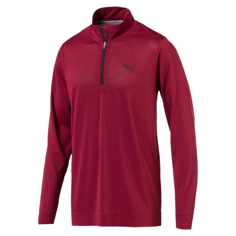 Puma Herren Evoknit Essential 1 4 Zip Pullover