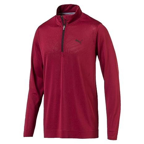 3a48dcd43 Puma Men's Evoknit Essential 1/4 Zip Sweatshirt: Amazon.co.uk ...