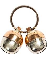 Beau's Bells 2 Extra Loud Cat & Dog Bells | Pet Tracker | Save Birds & Wildlife Handmade Copper (Medium)