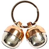 2 Extra Loud Cat & Dog Bells Save Birds & Wildlife Luxury Handmade Copper (Medium)