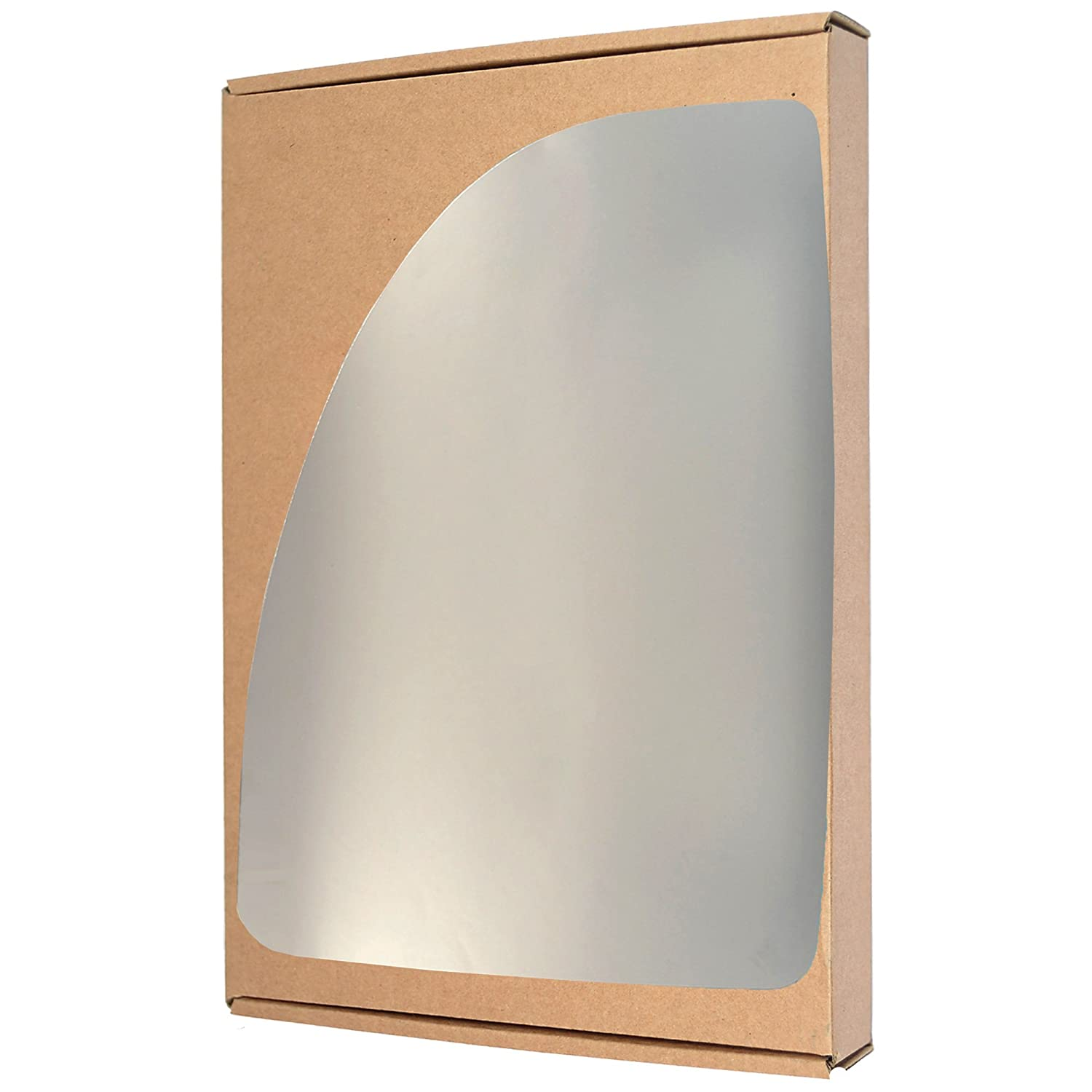 Left passegner side Silver Wing mirror glass # PeBox/m02-1905880/590