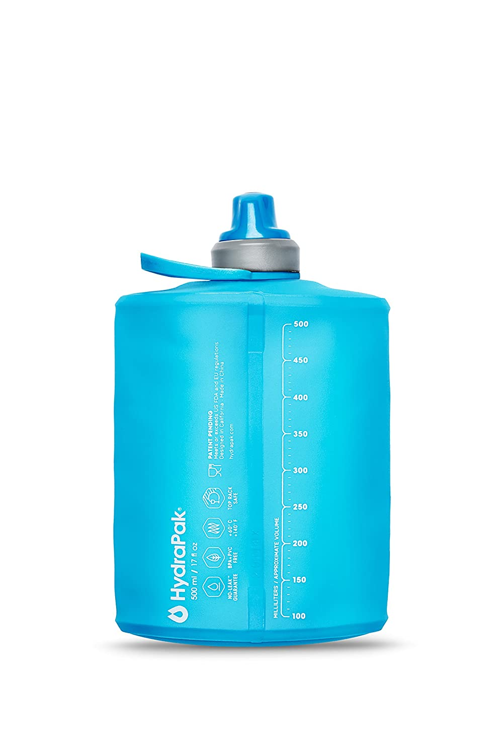 1c11b28285 Amazon.com : Hydrapak Stow - Collapsible BPA & PVC Free Water Bottle :  Sports & Outdoors