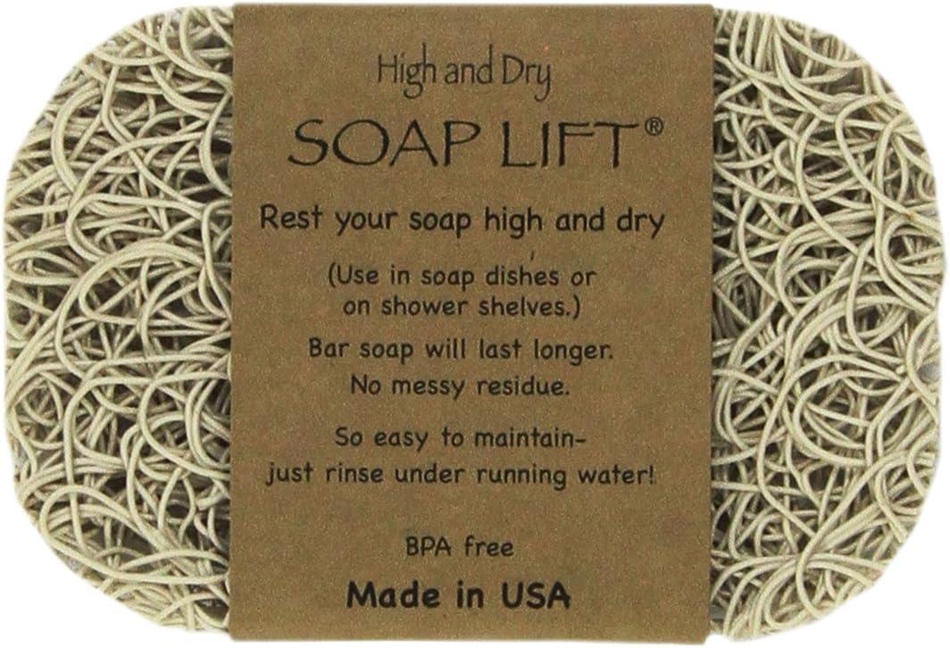 SOAP LIFT® SAVER Ecofriendly Homemade Soap Holder Dish Lift Bar Drainer