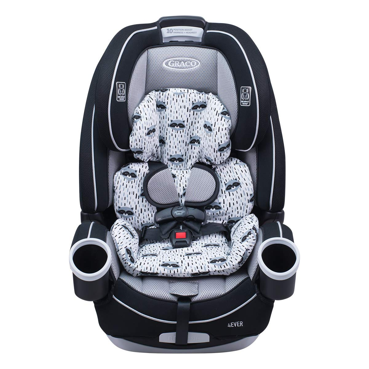 JANABEBE Cover Liner Compatible with Reducer Graco 4Ever (Raccoon)