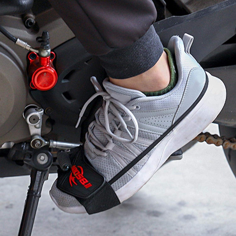 Buding Motorrad Schuhe Schalthebelkissen Schalthebel Schuh Für Motorrad Protector Motorrad Schuhschutz Abdeckung Schuhe Beschützer 1 Stück Küche Haushalt
