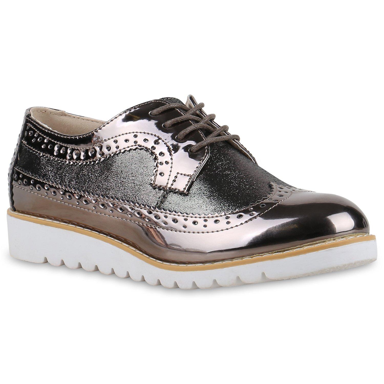 Stiefelparadies , Chaussures de ville à lacets pour femme