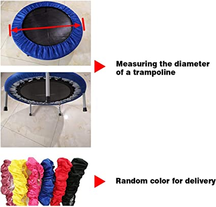 Random Color 55 inch Trampoline Replacement Safety Pad Spring Cover,Suit for Trampoline with Fence