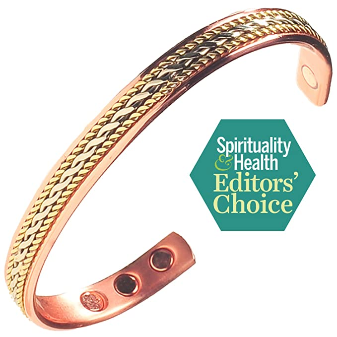 Amazing Health Ladies Copper and Magnetic Stylish bracelet Hand Crafted in the UK amGLxaV00