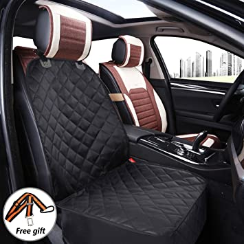 Dog Car Front Seat Cover Focuspet Pet Protector Durable Waterproof Scratch Proof