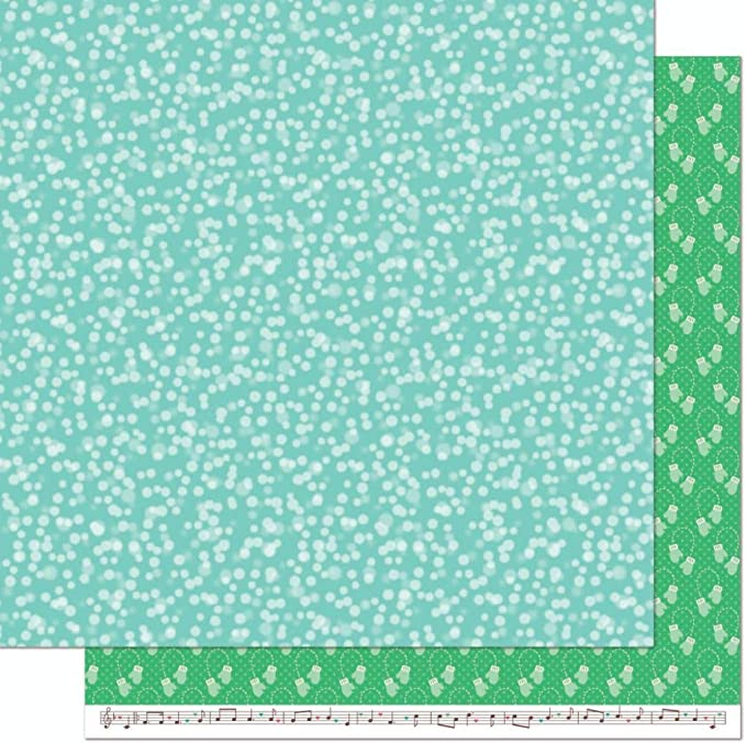 LF2084 Lawn Fawn Snow Day Remix Collection 12x12 Pack of 12 Sheets