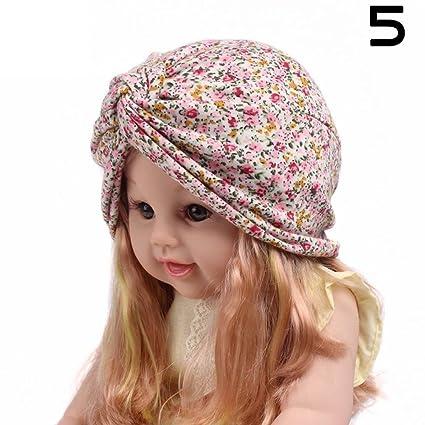 GSEASTBUY - Pañuelo para el pelo con diseño de gorra de cruz para bebé, con