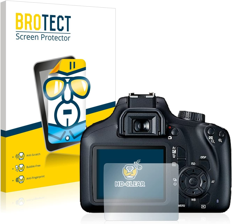 BROTECT Protector Pantalla Compatible con Canon EOS 4000D ...