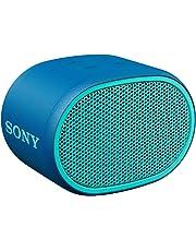 Sony SRS-XB01 Speaker Compatto, Portatile e Resistente all'Acqua con Extra Bass, Blu