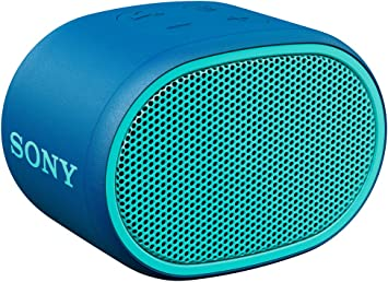 Amazon Com Sony Srs Xb01 Compact Portable Bluetooth Speaker Loud Portable Party Speaker Built In Mic For Phone Calls Bluetooth Speakers Blue Srs Xb01 Home Audio Theater