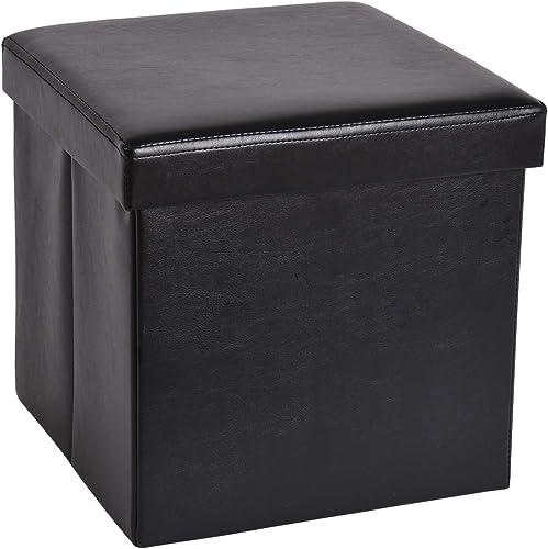 XU JIA 13.8 inches Storage Ottoman Cube