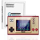 NEWZEROL 4-pack för Nintendo Game&Watch skärmskydd 2,5D Arc Edge[Inga bubblor] [Anti-repa] 9 hårdhet härdat glas…