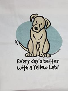 product image for Every Day's Better with a Yellow Lab Nightshirt