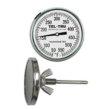 tel-tru bq225 barbacoa termómetro de Pit, 2 pulgadas Dial y 2 – 1