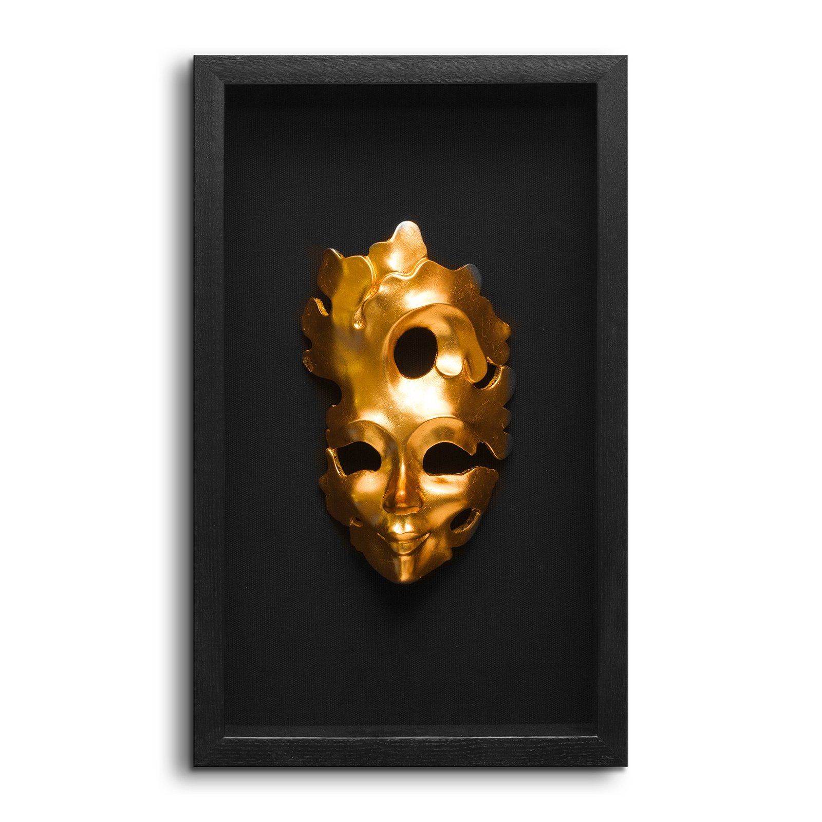 Fredrik Lorenz Original Riva Faces of Venice - Venetian Mask Wall Decor, Shadow Box Face Mask Wall Accent (3 Sisters) by Fredrik Lorenz (Image #3)