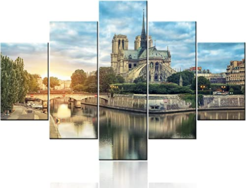 Religious Wall Decor Notre Dame Picture