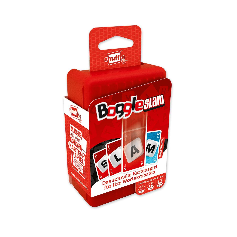 Boggle Slam!: Das schnelle Kartenspiel für fixe Wortakrobaten. Mehr als ein tolles Kartenspiel. Doppelter Spaß mit der kostenlosen Shuffle App: Amazon.es: Mundi, Carta: Libros en idiomas extranjeros